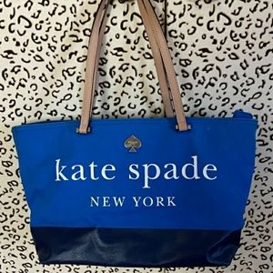 Kate Spade New York Blue Handbag Totebag
